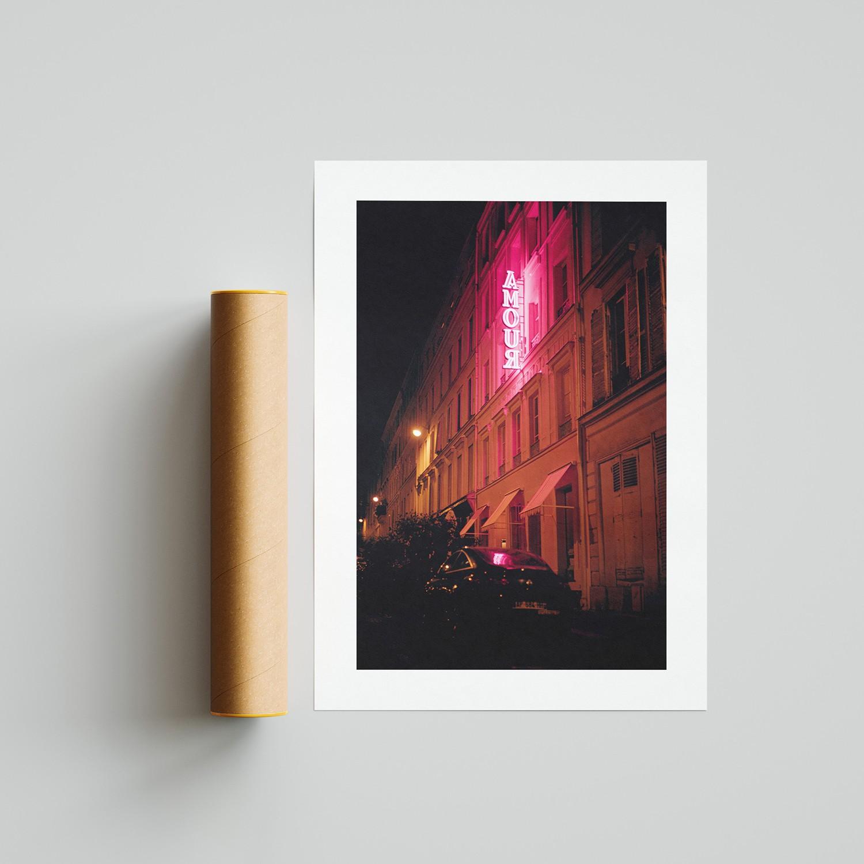 Amour à Pigalle, Paris